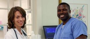 Friendly nurses and staff