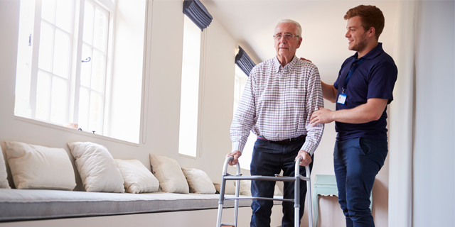 skilled nursing home vs assisted living